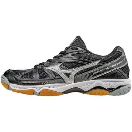 wave hurricane 2 volleyball shoe, black