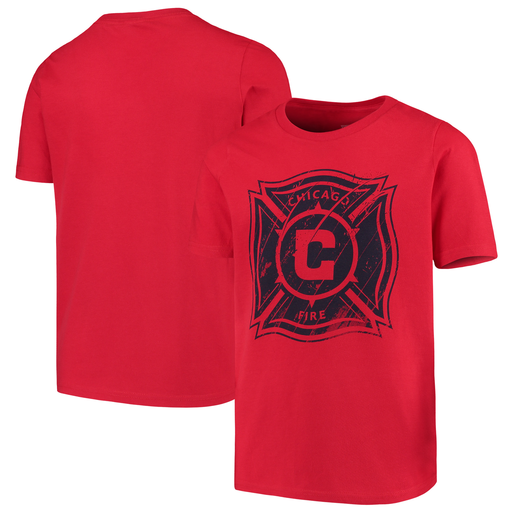 Chicago Fire Youth Rush to Score T-Shirt - Red