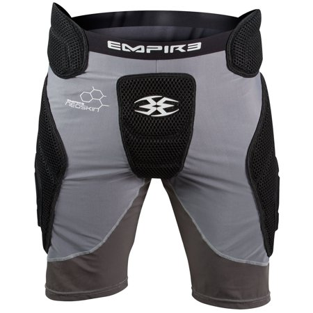 Empire Paintball Neoskin Slider Shorts - Black/Grey - (Grey Thermal Paintball)