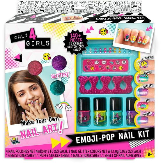 Enchanting nail kits at walmart elaboration nail art design ideas only 4 girls emoji pop nail kit walmart solutioingenieria Image collections