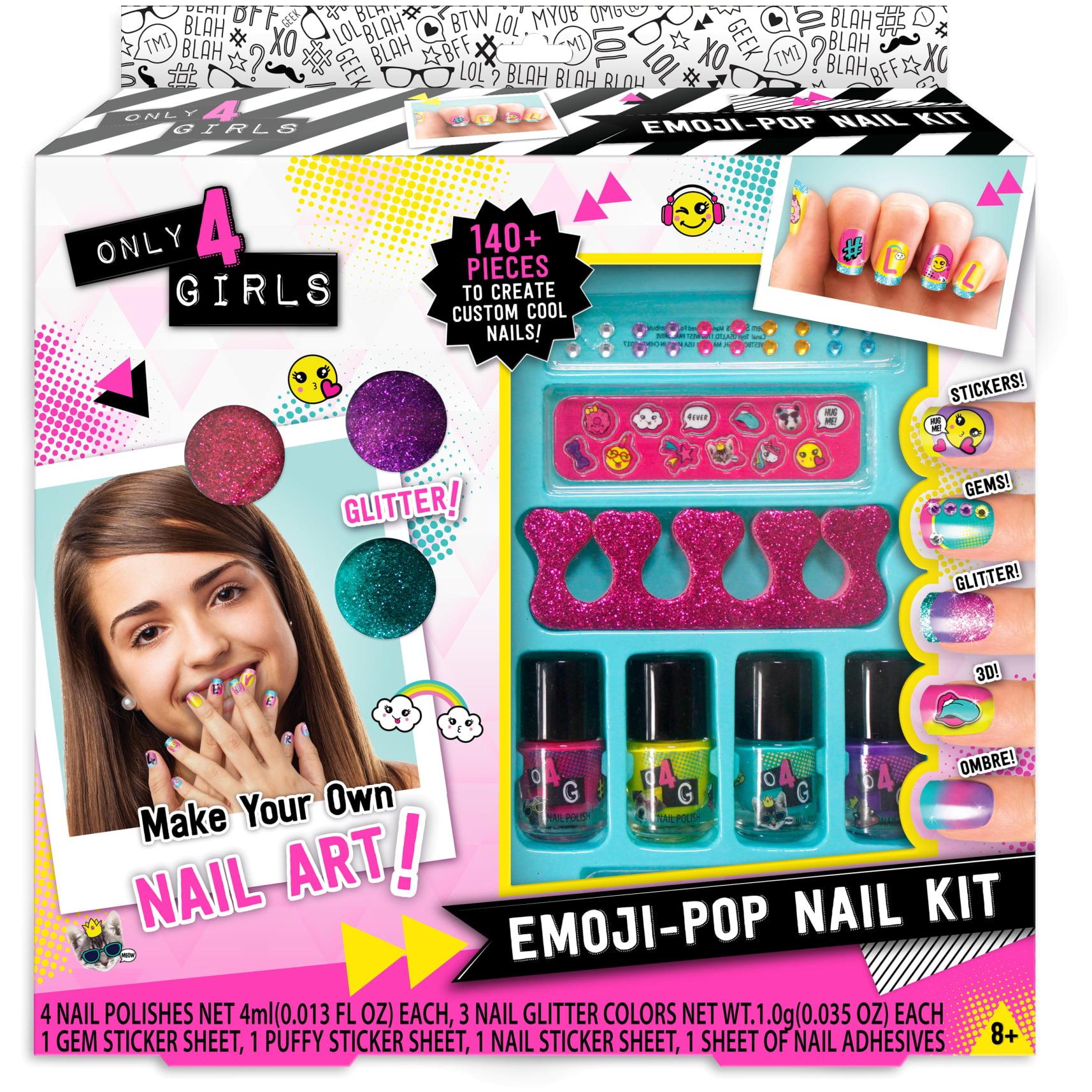 Only 4 Girls Emoji Pop Nail Kit