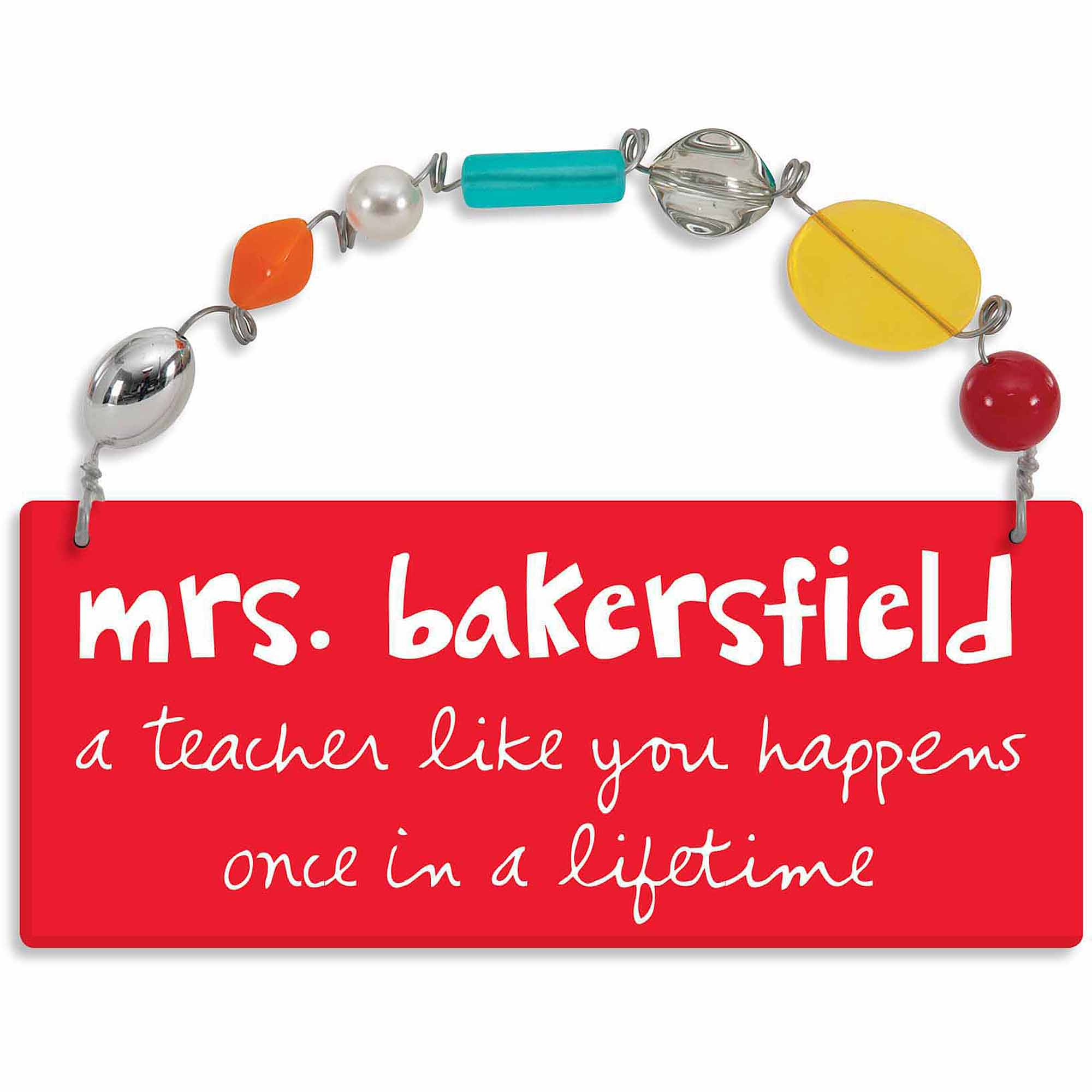 Personalized Sandra Magsamen A Teacher Like You Wall Plaque