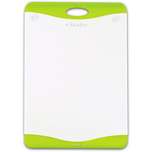 "Mainstays 12"" x 17"" Micrban Antimicrobial Protection Cutting Board."