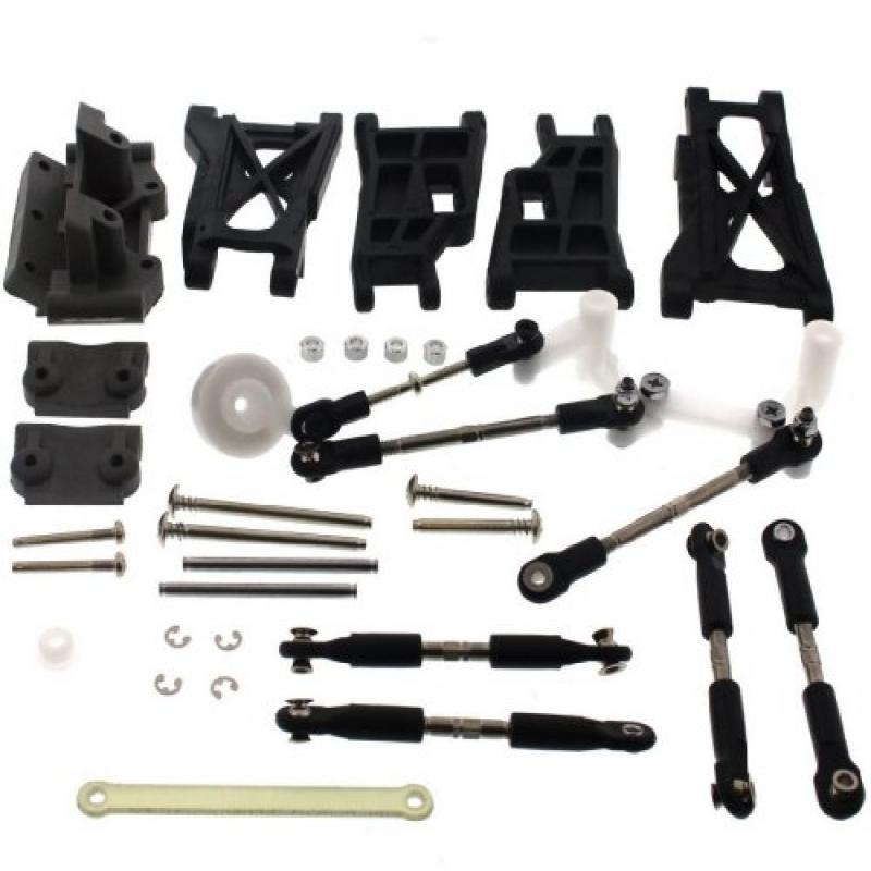 Traxxas 1 10 Nitro Slash 3.3 2WD FRONT REAR ARMS TIE ROD TURNBUCKLES SERVO SAVER by