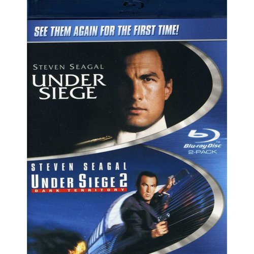 Under Siege / Under Siege 2: Dark Territory (Blu-ray) (Widescreen)