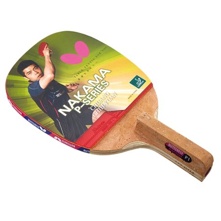 Butterfly Nakama P1 Penhold Table Tennis Racket-Carbon Blade-Sriver 1.7