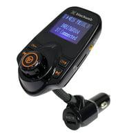 Blackweb Fm Transmitter With Bluetooth Wireless Technology