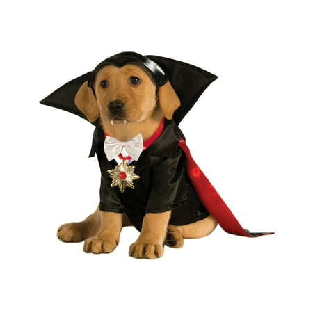 Halloween Dracula Dog Costume X-Large - Squirrel Dog Halloween Costume