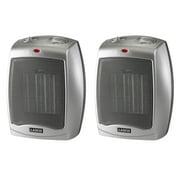 Lasko Ceramic heater 2-Pack with Adjustable Thermostat 754200