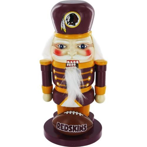 Washington Redskins 7 Elite Wooden Nutcracker Figurine""