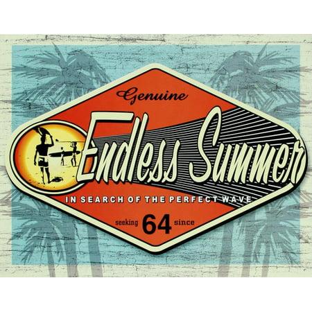 - Endless Summer Genuine Tin Sign - 16x12.5