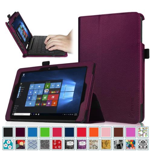 "8.9"" Nextbook Flexx 9 2-in-1 Window 10 Tablet (NXW9QC132) Case - Fintie Premium PU Leather Folio Cover, Purple"