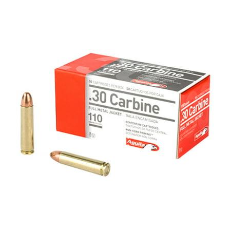 Aguila Ammunition .30 Carbine, 110 Grains, Full Metal Jacket, Per 50 thumbnail