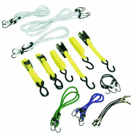 Elastic Strap And Tie Down Assortment