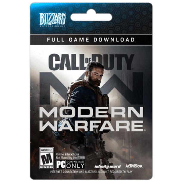 Call Of Duty Modern Warfare Standard Edition Activision Pc Digital Download Walmart Com Walmart Com