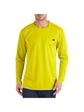 Dickies Men's Long Sleeve Performance Pocket T-Shirt