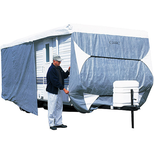 Classic Accessories PolyPro III Travel Trailer Storage Cover