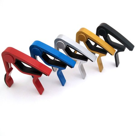 Compact Size Aluminum Alloy Guitar Tuner Clamp Professional Key Trigger Capo - image 1 of 4