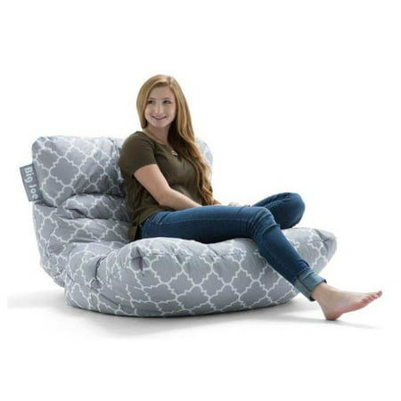 Outstanding Big Joe Roma Floor Bean Bag Chair Multiple Colors Fabrics Inzonedesignstudio Interior Chair Design Inzonedesignstudiocom