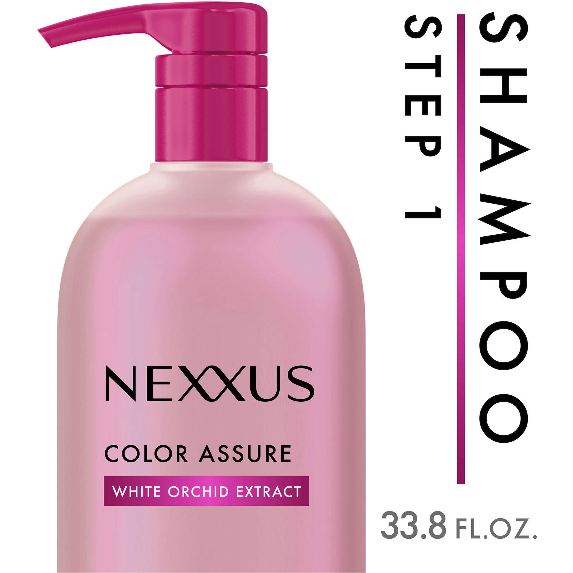 Nexxus Color Assure with Pump Rebalancing Shampoo, 33.8 oz
