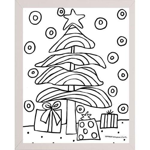 Winston Porter Christmas Tree Print