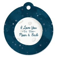 Twinkle Little Star - Baby Shower or Birthday Party Favor Gift Tags (Set of 20)