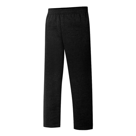 Hanes Boys Sweatpants (Hanes EcoSmart® Boys' Open Leg Sweatpants - D097 )