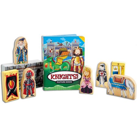 T.S. Shure ArchiQuest Wooden Castle Blocks Playset and