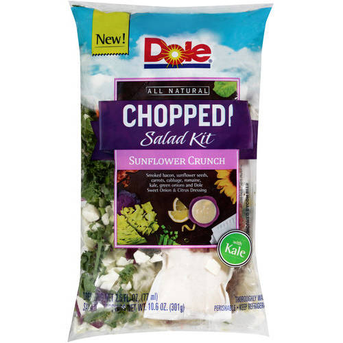 Dole Chopped Sunflower Crunch Salad Kit, 13.2 oz