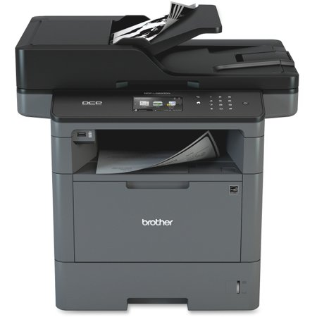 Brother DCP-L5650DN Laser Multifunction Printer - Monochrome - Plain Paper Print - Desktop - Copier/Printer/Scanner - 42 (Brother Dcp Printer)