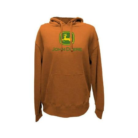 John Deere Western Sweatshirt Mens Logo Fleece Draw Cords 13560000 (John Deere Mens Sweatshirt)