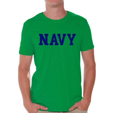 Awkward Styles Navy Shirt for Men Navy Training Tshirt for Men Workout Clothes Military Shirt Military Gifts for Him Navy T