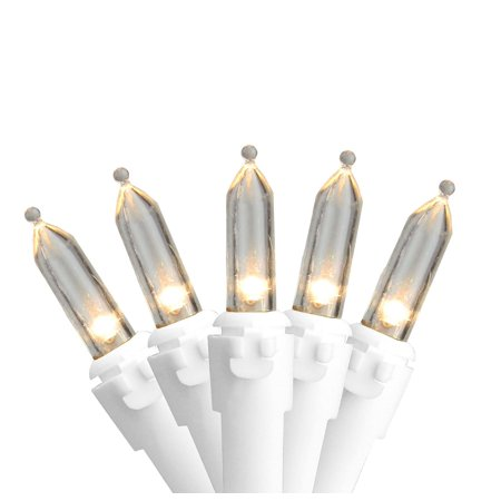 Set of 100 Warm White LED Mini Christmas Lights 4