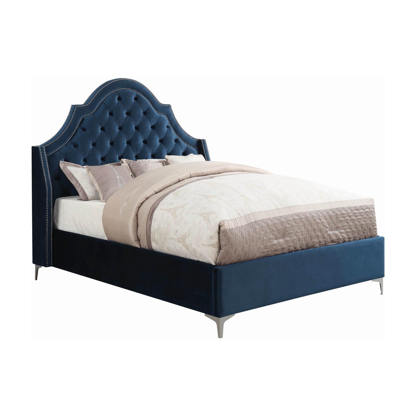 Coaster Furniture Shayne Upholstered Low Profile Bed