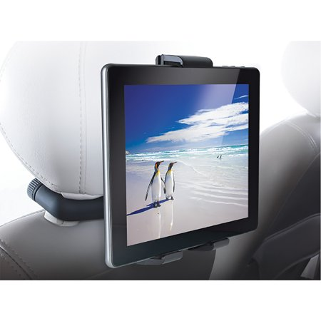 Audiovox IPD-UNV Universal Vehicle Mount System for Tablets With USB and FM Transmitter