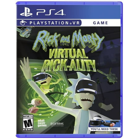 Greybox Rick & Morty: Virtual Rick-ality for PlayStation 4