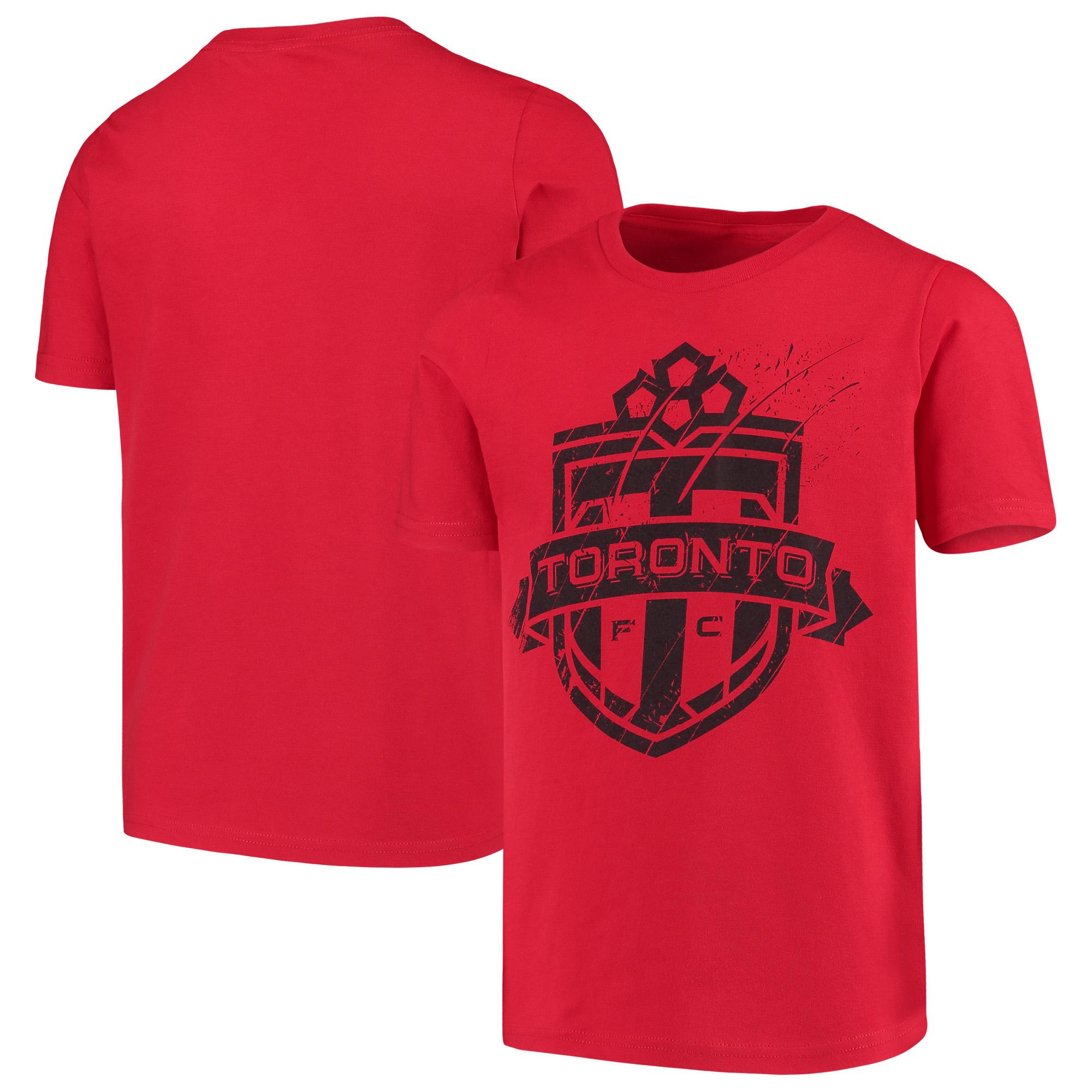 Toronto FC Youth Rush to Score T-Shirt - Red