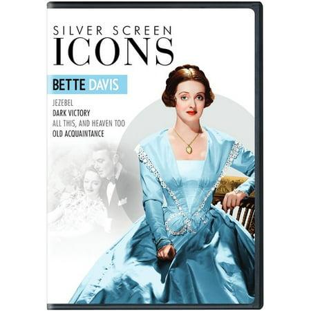 - Silver Screen Icons: Bette Davis (DVD)