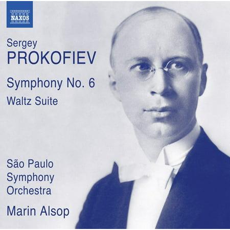 Prokofiev   Alsop   Sao Paulo Symphony Orchestra   Prokofiev  Symphony No  6 Op  111   Waltz Suite  Cd