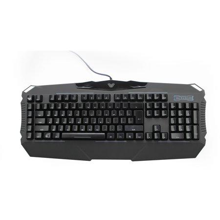AULA Dragon Abyss SI-863 LED-Backlit Mechanical Wired Gaming Keyboard, (Dragon War Gk 007 Atomos Mechanical Gaming Keyboard)