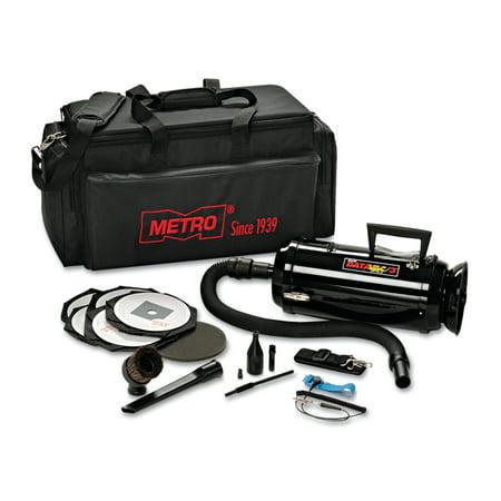 DataVac Metro Vac Anti Static Vacuum Blower Includes Storage Case HEPA Dust Off Tools