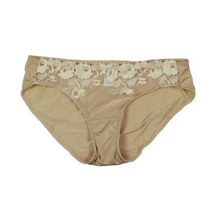 Wacoal Womens Opulence  Lace Trim Underwear Bikini Panty