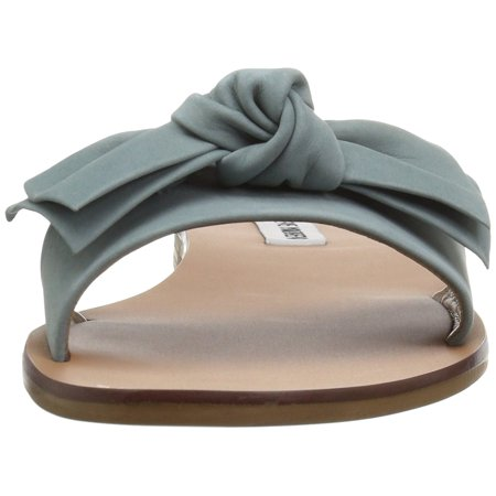 a2c13a70f37411 Steve Madden Womens Knotss Leather Open Toe Casual Slide - image 1 of 2 ...