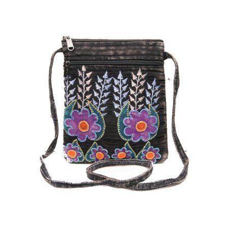 CATALOG CLASSICS - Women s Crossbody Bag - Folk Art Canvas Passport Purse -  Walmart.com 1c0712aef