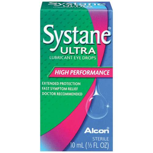 ALCON SYSTANE ULTRA High Performance Dry Eye Lubricant Artificial Tear Eye Drops - .33 fl oz
