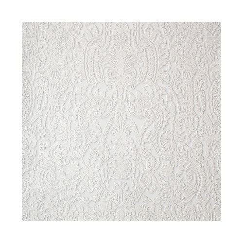 York Wallcoverings Barbara Becker Raised Surface Damask Wallpaper