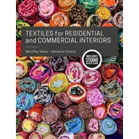 Textiles for Residential and Commercial Interiors: Bundle Book + Studio Access Card (Other)