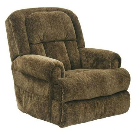 Catnapper Burns 4847 Power Dual Motor Infinate Position Full Lay Flat Lift Chair Recliner   Earth