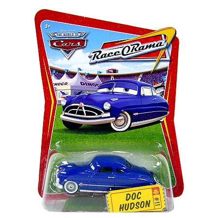 Disney Cars Race-O-Rama Doc Hudson Diecast Car (Hudson Race)