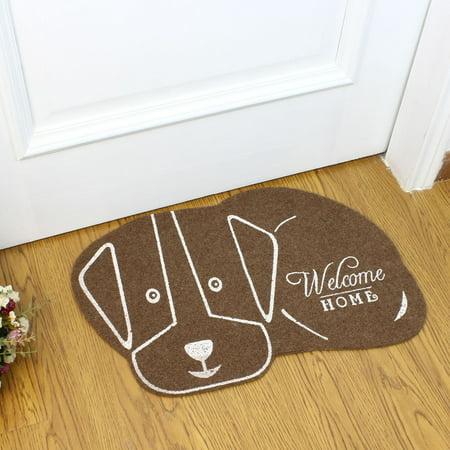 Cute Cartoon Animal Pattern Nonslip Door Mat for Hallway Shoe Cabinet Side - image 7 of 7